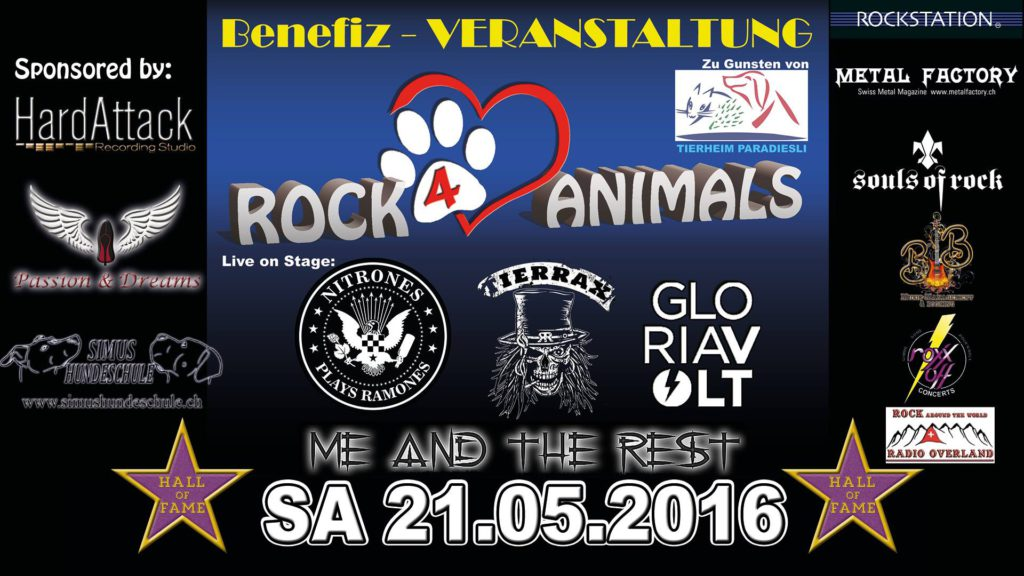 Rock for animals
