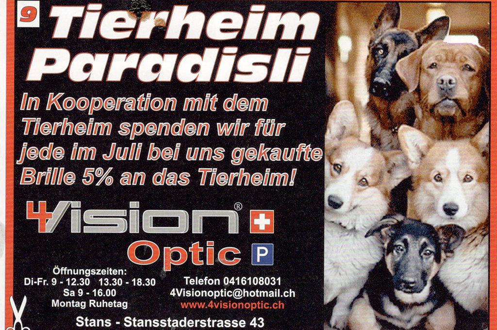 Aktion Brille