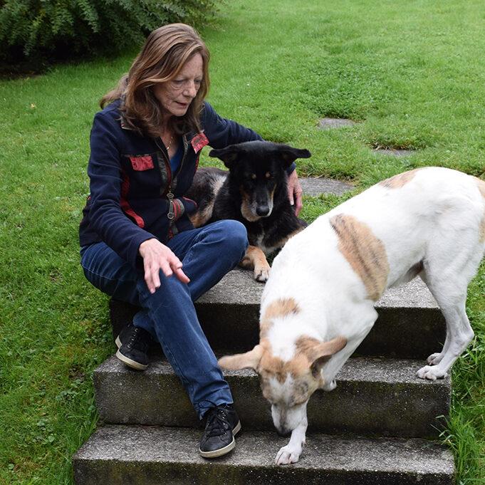 Maria und Hunde